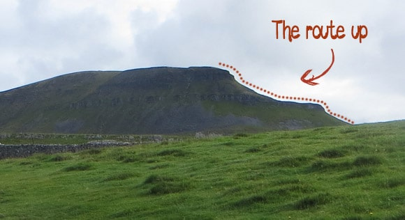 Pen-y-ghent-route