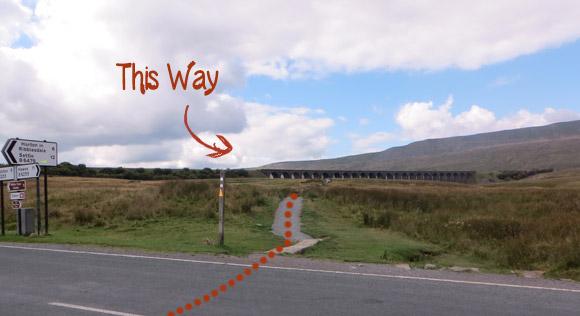 Ribblehead-Viaduct-to-Whernside