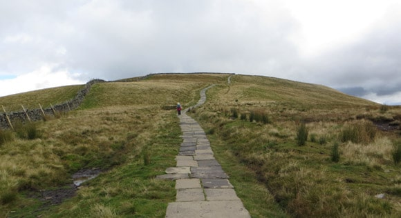 Walk-to-the-summit-of-pen-y-ghent
