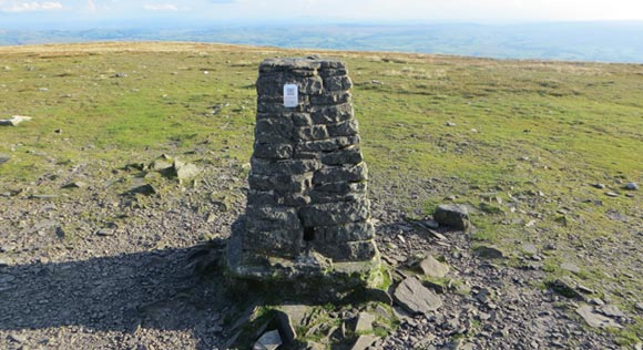 Ingleborough-trig