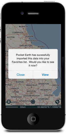 view-GPX-route-on-map-pocket-earth-pro