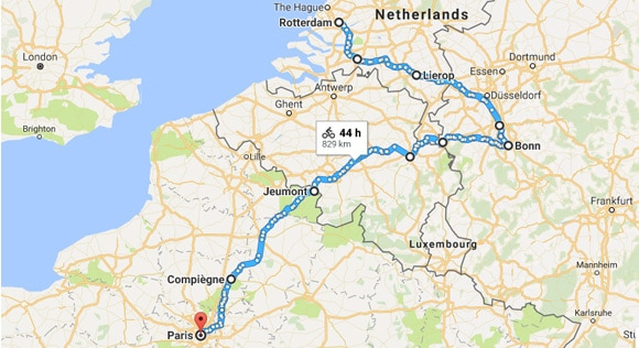 Cycling from Hull to Paris: Pedalling across the Netherlands ...