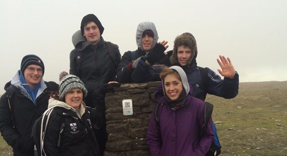 Ingleborough Trig