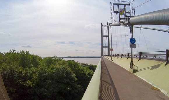 Humber Bridge Walking Path