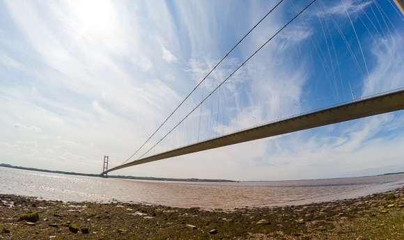 Humber Bridge From Hessle Foreshore