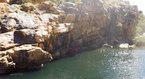 Bell Gorge Jumping Points