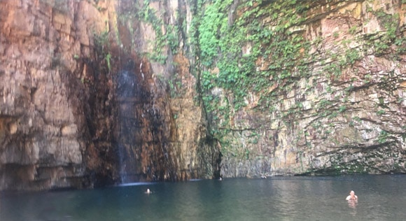Emma Gorge Swimming Hole and Waterfall