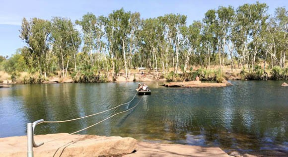 Manning Gorge Rope Bull Boat