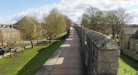 Micklegate to Baile Hill path