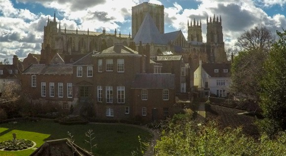 Minster view from the York Walls
