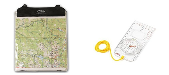map and compass yorkshire three peaks