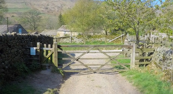 Gate at Upper Booth