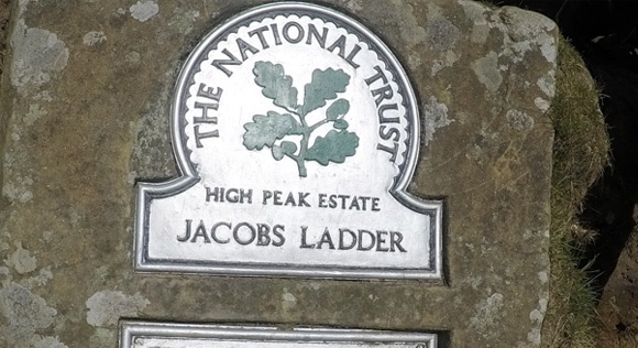 Sign for Jacobs LAdder