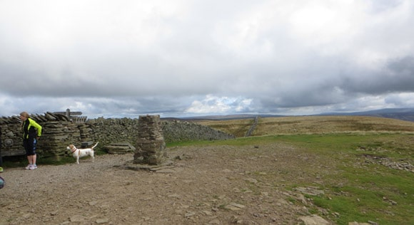 Pen-y-ghent-summit