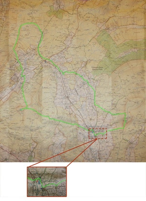 Yorkshire-Three-Peaks-Route-on-OS-Map-(small)