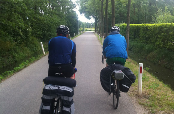 Cycle touring in the Netherlands