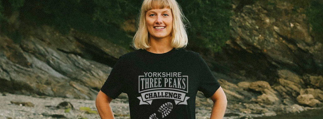 Yorkshire Three Peaks Challenge Finisher T-shirts featured image