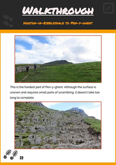Yorkshire Three Peaks Guide Preview Walkthrough