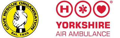 Yorkshire Air Ambulance and Mountain and Cave Rescue logo