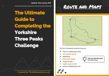 Yorkshire Three Peaks Challenge ebook cover