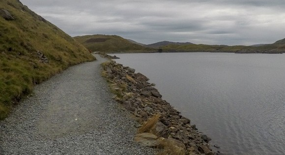 Path around Llyn Llydaw