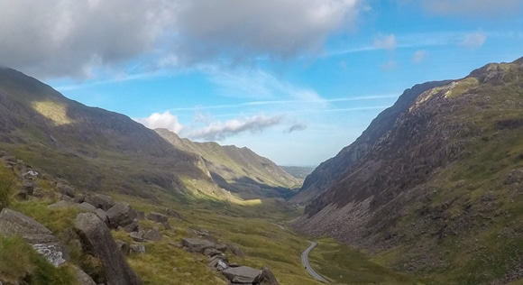 Views from the pyg track