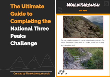 National Three Peaks Challenge ebook cover