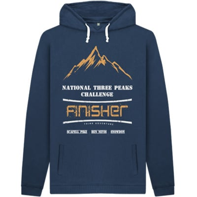 Blue National Three Peaks Hoody