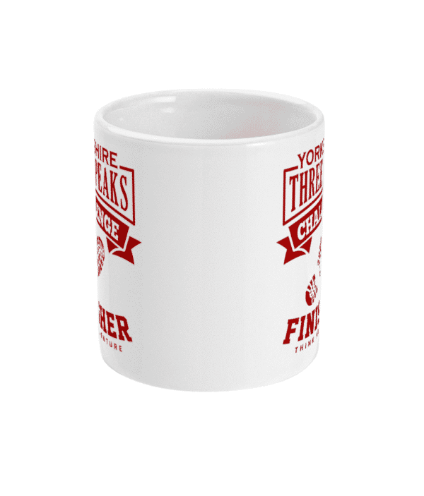 Yorkshire Three Peaks Red Mug Front