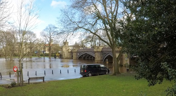 Skeldergate Bridge and the Ouse