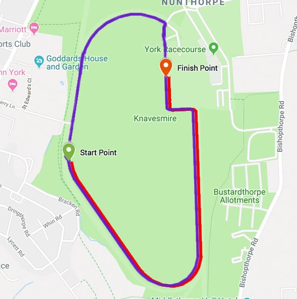 York Park Run Route