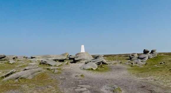 Kinder Scout Low Trig