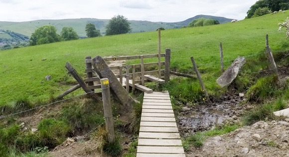 Stile before Lose Hill