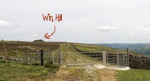Win Hill in the background