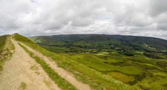 Mam Tor to Brown Knoll Edale Skyline