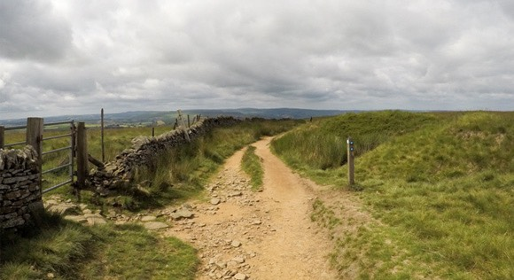 Path to Brown Knoll