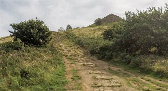 Path up Roseberry Topping