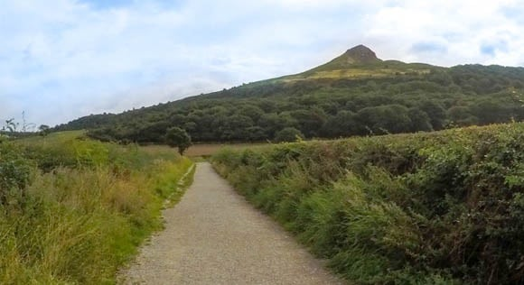 Roseberry Topping from a distance