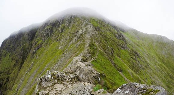 Top of Striding Edge