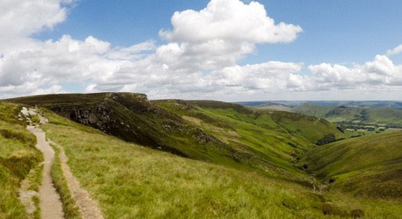 Upper Tor and Nether Tor path