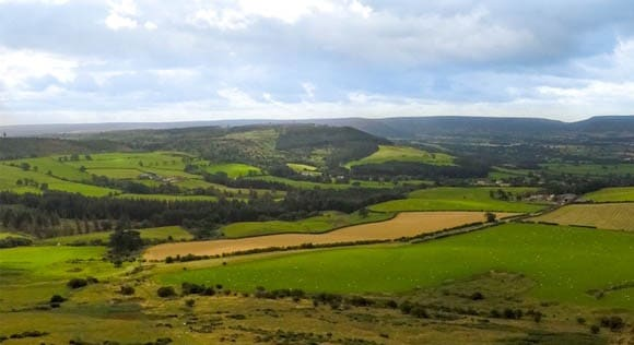 Views of North Yorkshire Moors