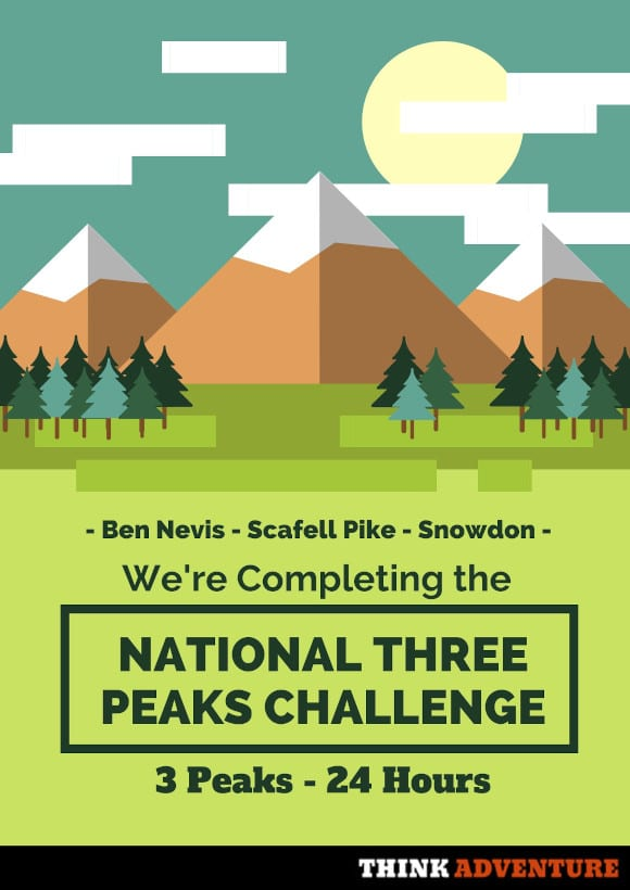 National Three Peaks Poster 2