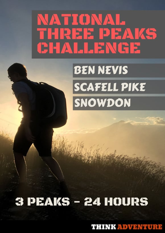 National Three Peaks Poster 3