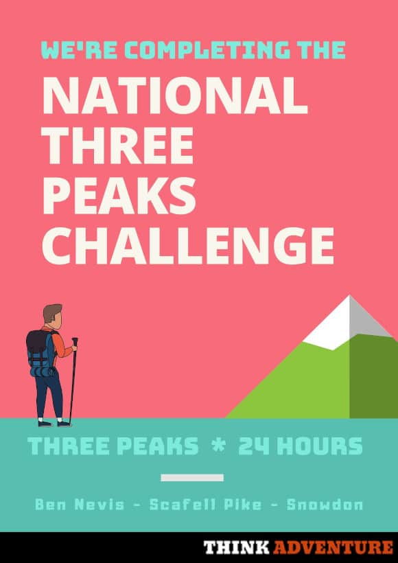 National Three Peaks Poster
