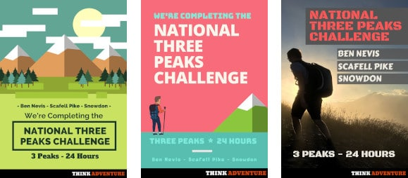 National Three Peaks Posters