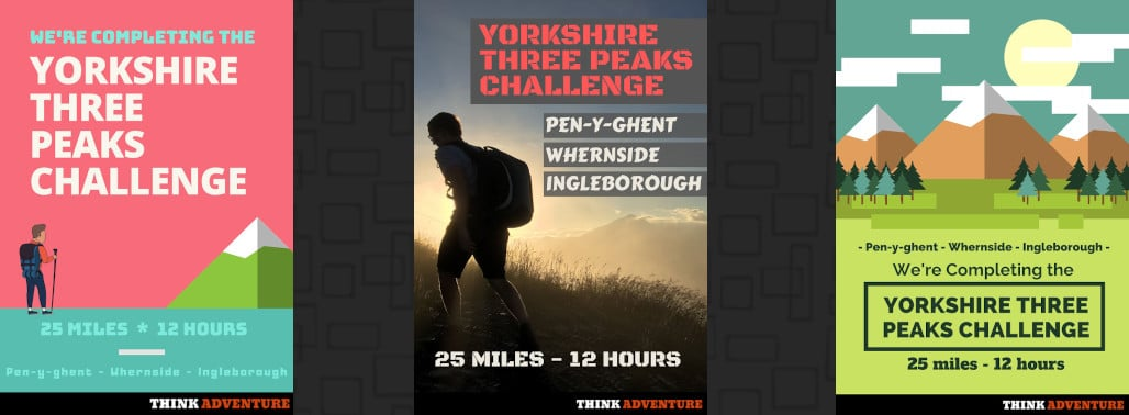 Yorkshire Three Peaks Posters featured image