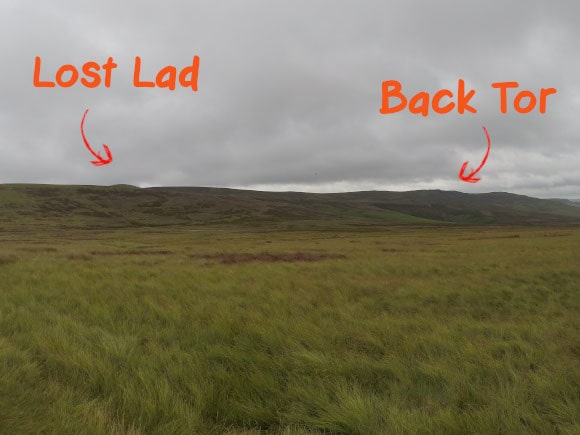 Lost lad and back tor