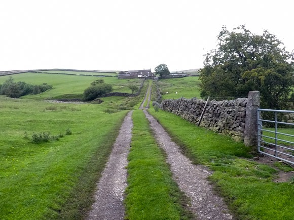 path leading to moscar house