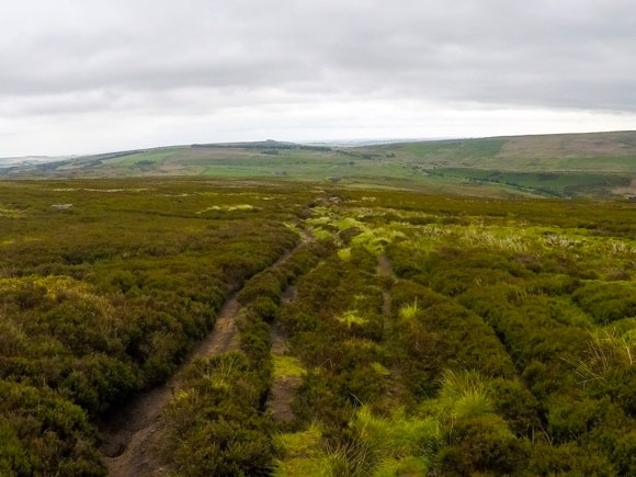 route to stanage edge