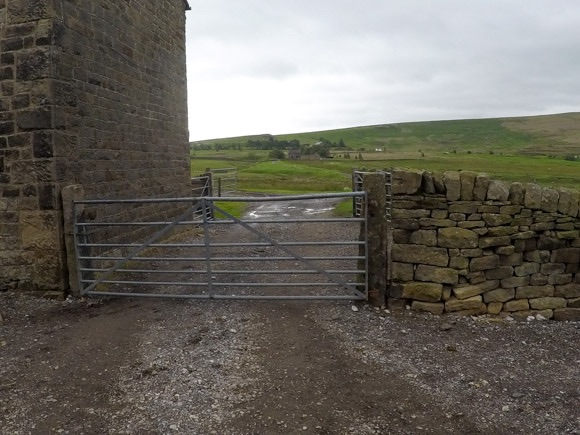 second gate at mascow house